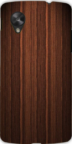 Snoogg  Wood FurnishCase Cover For Google Nexus 5