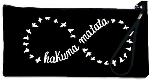 Snoogg  Hakuna Matata Wallet Clutch Pouch