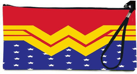 Snoogg  Wonder Woman Logo Wallet Clutch Pouch