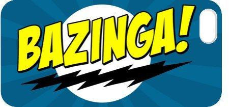 Bazinga Blue iphone 5