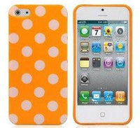 Yellow polka dot iphone 5