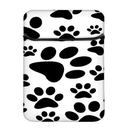 Snoogg Dog Stamps Laptop Case Flip Sleeve Pouch Computer Cover