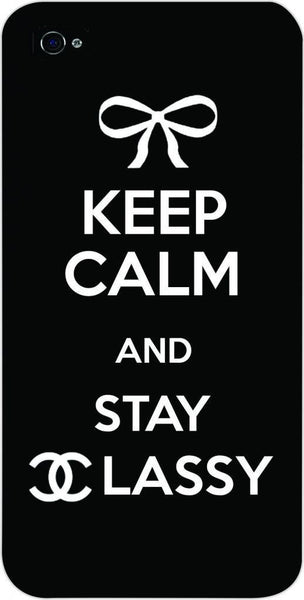 Keep Calm And Stay Classy iphone 5