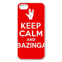 Keep Calm And Bazinga iphone 4