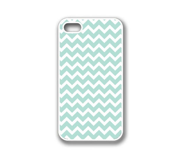 Wave Print Soft Blue iphone 5