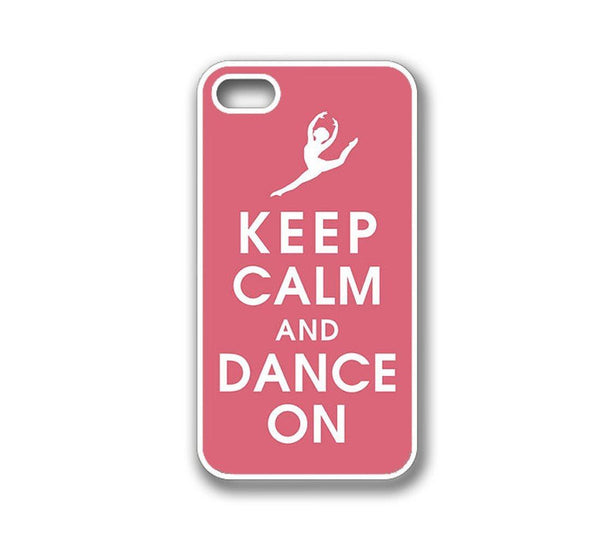 Keep Calm And Dance On iphone 4