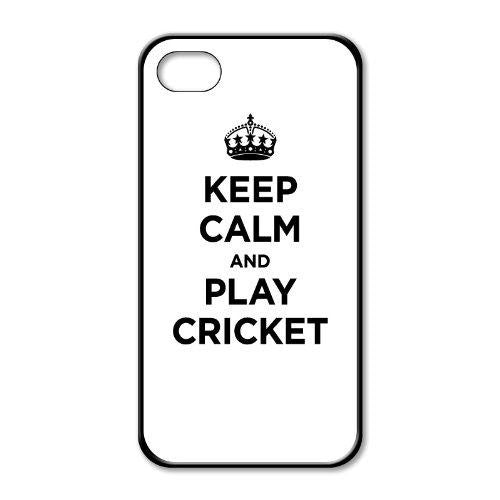 Keep calm and play cricket iphone 4