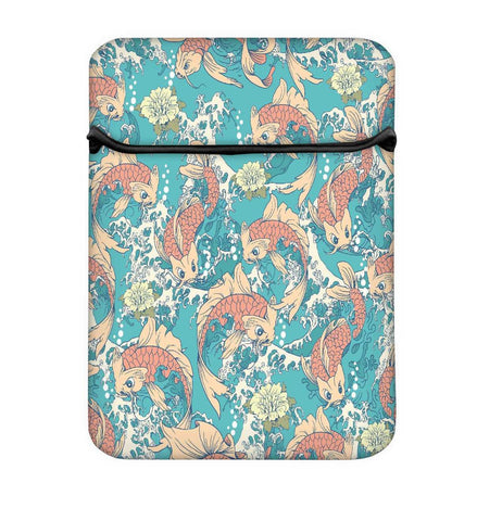 Snoogg Abstract Fish In Sea Laptop Case Flip Sleeve Pouch Computer Cover