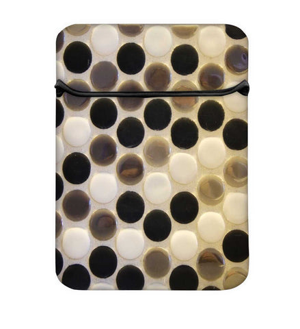 Snoogg Multicolor Spots Laptop Case Flip Sleeve Pouch Computer Cover