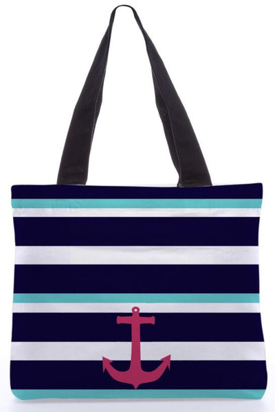 Anchor Multi Stripe  Bag