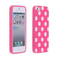 Pink Polka Dot iphone 5