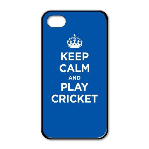 Keep calm and play cricket iphone 5
