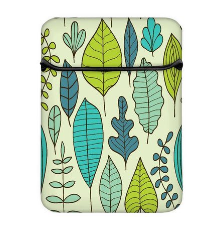 Snoogg Abstract Leaves Laptop Case Flip Sleeve Pouch Computer Cover