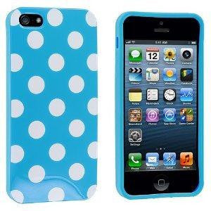 Blue Polka Dot iphone 5c