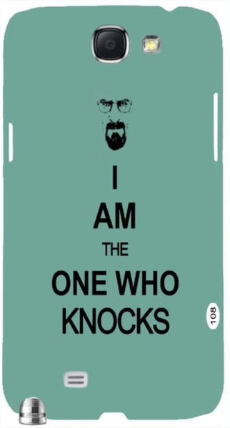 "Breaking Bad I Am the One Who Knocks "" For Samsung -Note-3 Case Cover"