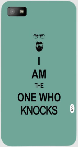 Breaking Bad I Am the One Who Knocks  For Blackberry Z10H