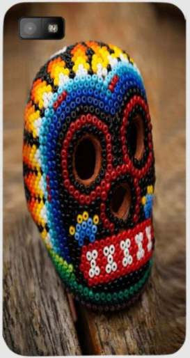 Beaded Skull  For Blackberry Z10H