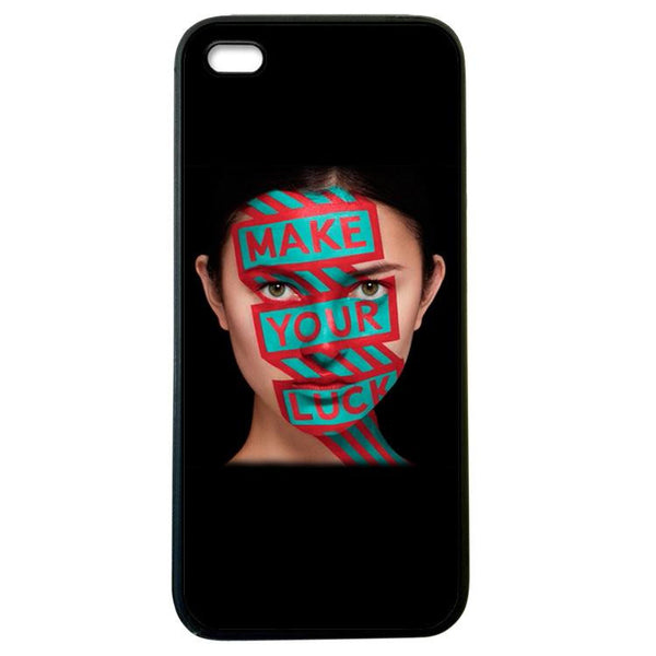 Make your Luck iphone 5 Case Cover