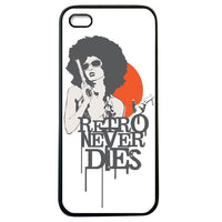 Retro Never Dies iphone 5 Case Cover