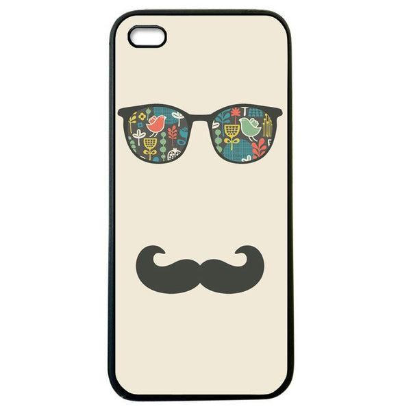 Mustache Beach Life iphone5 Case Cover