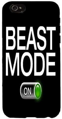 Snoogg  Beast Mode - on Case Cover For Apple Iphone 6+