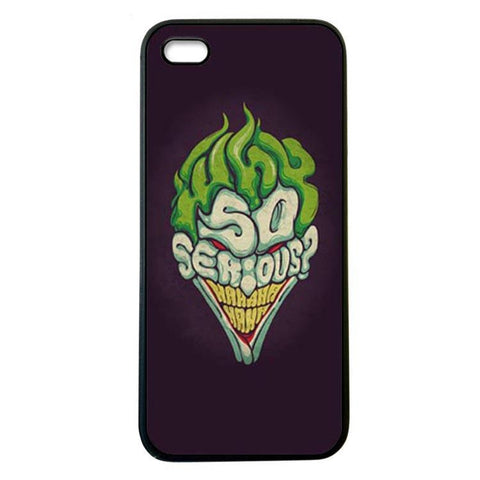 Joker Why so Serious iphone5 Case Cover