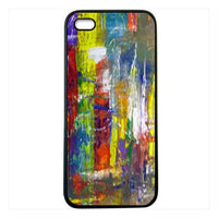 Wall art abstract painting iphone5 Case Cover