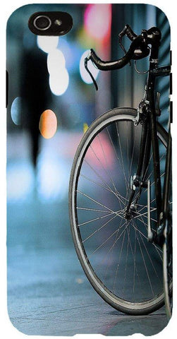 Snoogg  Bicycles Digital Art Case Cover For Apple Iphone 6+