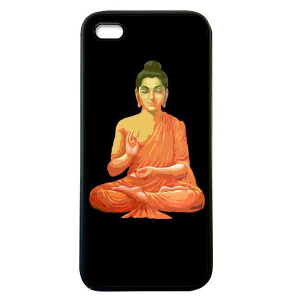 Buddha for Peace black iphone 5c Case Cover