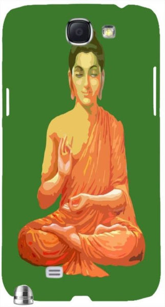 "Buddha for Peace Green "" For Samsung -Note-3 Case Cover"