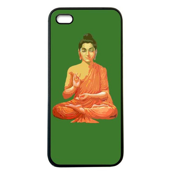 Buddha for Peace Green iphone 4 Case Cover