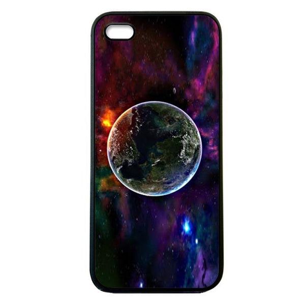 Earth from Moon - Painting iphone 4 Case Cover