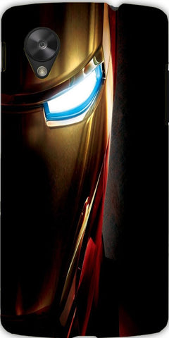 Snoogg iron man eye 2643 Case Cover For Google Nexus 5