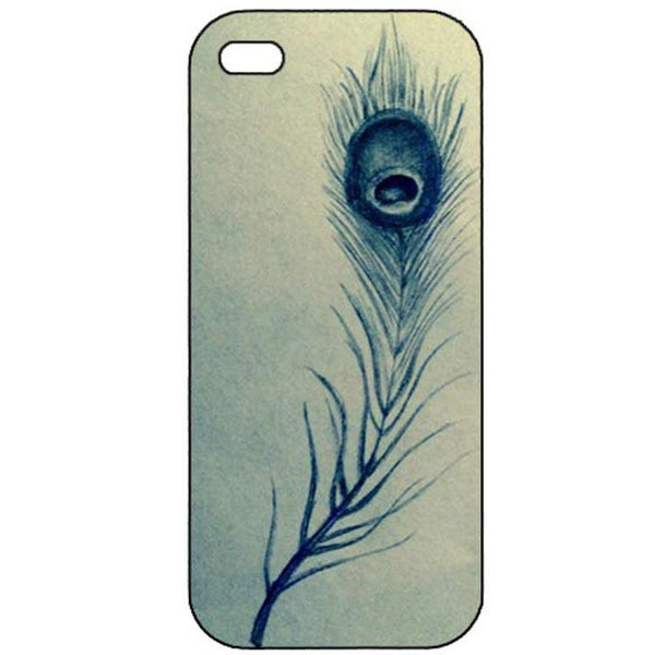 Feather Abstract iphone 4 Case Cover