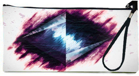Snoogg pyramid from above 2687 Wallet Clutch Pouch