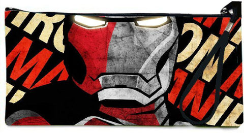 Snoogg shepard fairey iron man poster 2694 Wallet Clutch Pouch