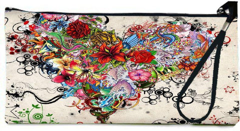 Snoogg tatoo 2706 Wallet Clutch Pouch