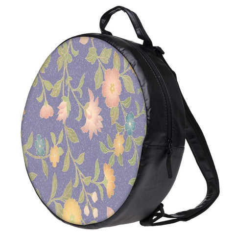 Snoogg Floral Pattern Bookbag Rounded Backpack Boys Girls Junior School Bag PE Shoulder Bag
