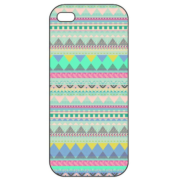Aztec patterns Light Blue  Iphone 5