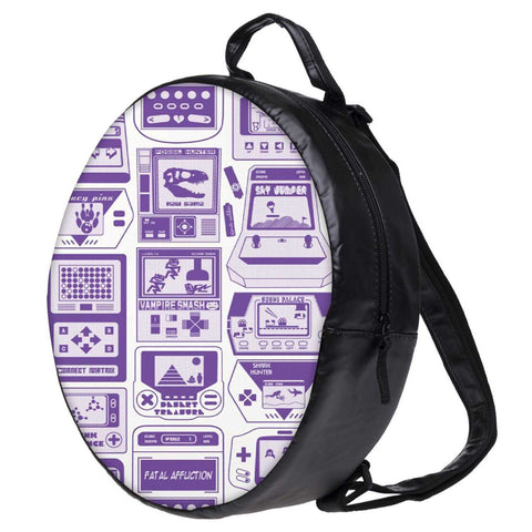 Snoogg Video Gamer'S Dream Bookbag Rounded Backpack Boys Girls Junior School Bag PE Shoulder Bag