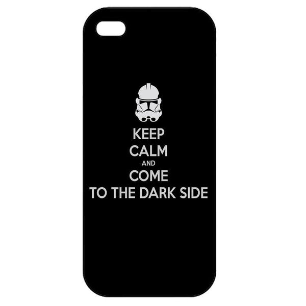 Keep Calm and Dark Side Iphone 5