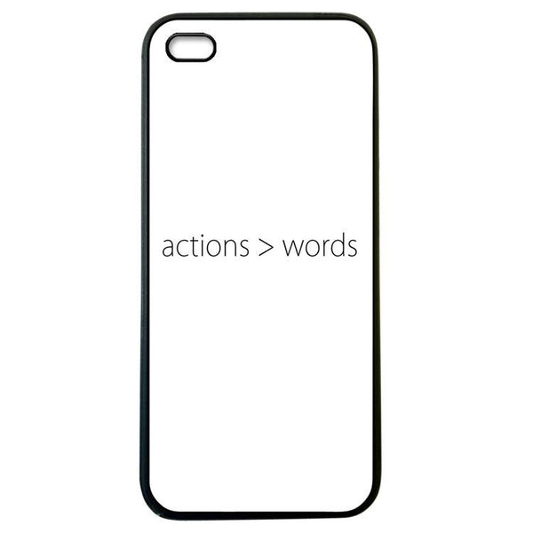 Actions > words Iphone 5