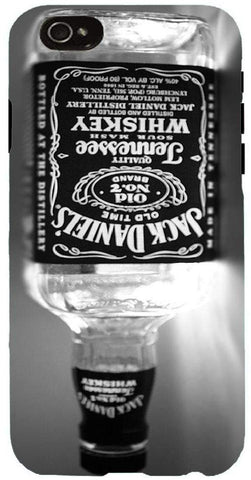 Snoogg Jack Daniels BOTTLE UPSIDE DOWN Case Cover For Apple Iphone 6+
