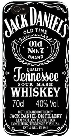 Snoogg Jack Daniels LOGO Case Cover For Apple Iphone 6+