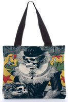 "Canvas Tote Bags  ""Lady"" Graphic Design by : Ali Gulec"