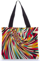 "Canvas Tote Bags  ""Vanishing Point"" Graphic Design by : Danny Ivan"