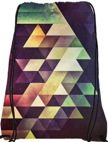 Snoogg fyzykyl_Small Drawstring Bag By Spires