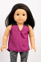Magenta Meagan Tank - American Girl Doll Clothes