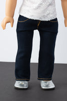 Dark Wash Skinny Jeans - American Girl Doll Clothes