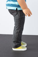 Black Boot-cut Jeans - American Girl Doll Clothes